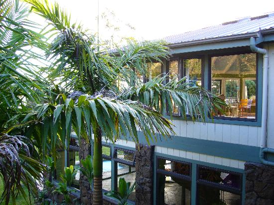Waianuhea Bed & Breakfast: A view from our lanai