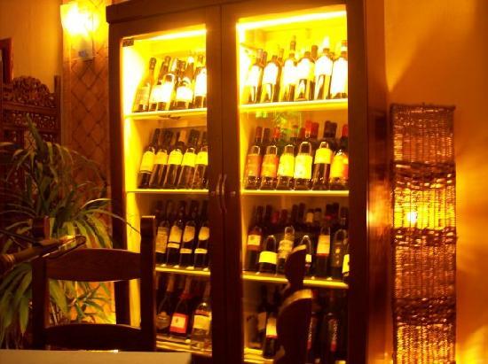 La Bougainville: wines...