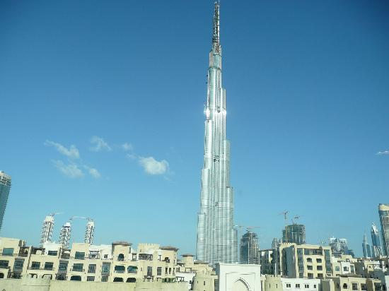Manzil Downtown Dubai: View from our Room