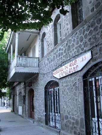 lovely old streets in Goris