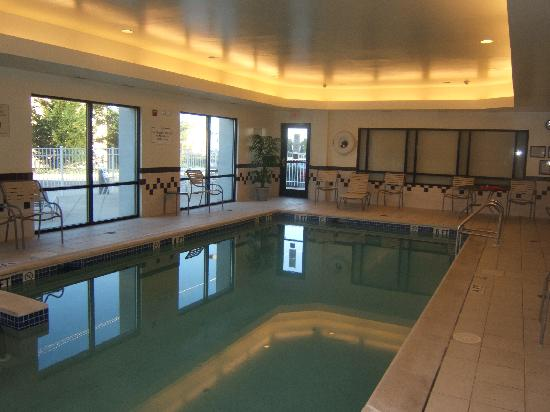 Indoor Pool Picture Of Springhill Suites Hershey Near The Park