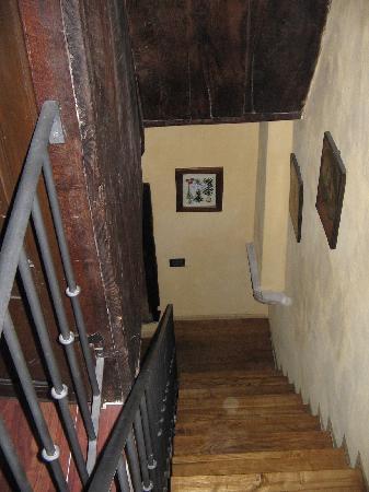 The Lance Manor Castle: interior shot