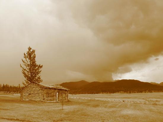 Echo Valley Ranch & Spa : Old building