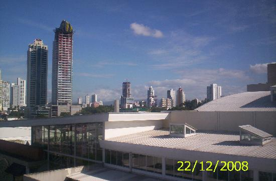 Courtyard Panama at Multiplaza Mall: view from my room