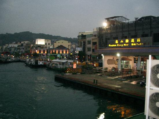 Gushan Ferry Pier: 夜景はロマンチック