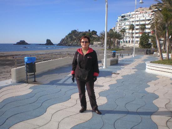 Hotel Bahia de Almunecar: Paseo Priento Moreno