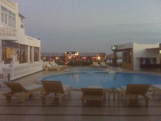 Seaview Hotel Dahab: Poolside