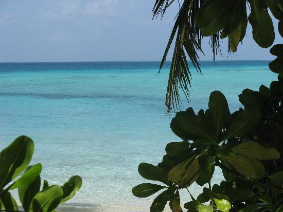 Giravaru Resort: Vista dalla camera 158