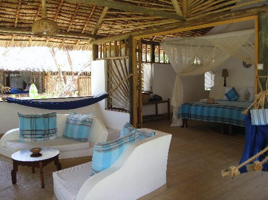 Ras Kutani: Our cottage on the beach