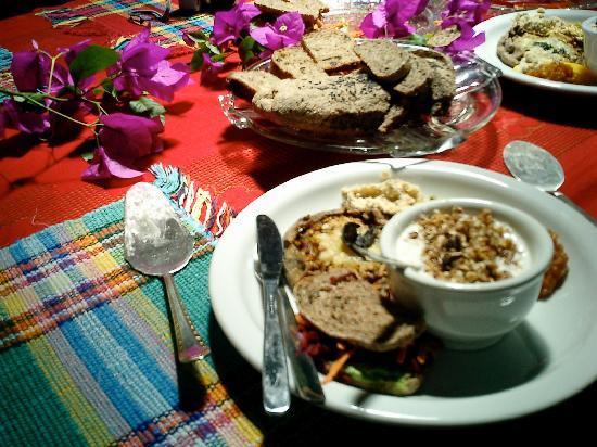 Pousada Casa do Ceo: The food