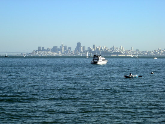 Millbrae, Californië: A day out on the Bay on the Ferry