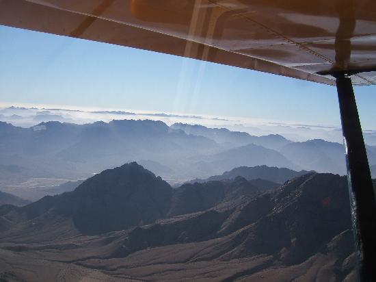 Swemeh, Jordan: morning mist