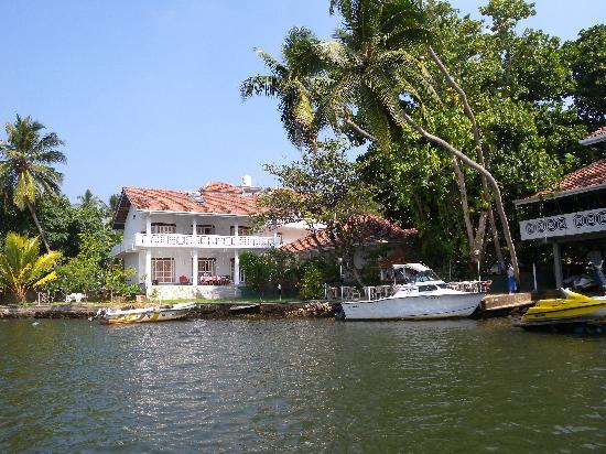 Aluthgama, Sri Lanka: Ansicht vom Fluss Bentota