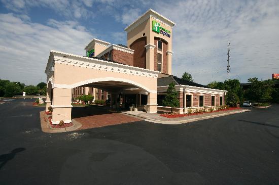 Holiday Inn Express Winston-Salem Downtown West: Hotel