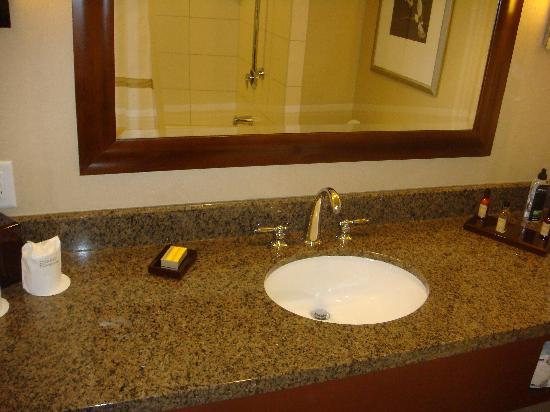 Raleigh Marriott City Center: Bathroom