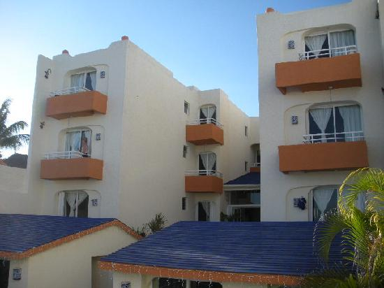the Playa Maya building