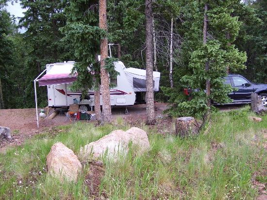 Divide, CO: Campsite