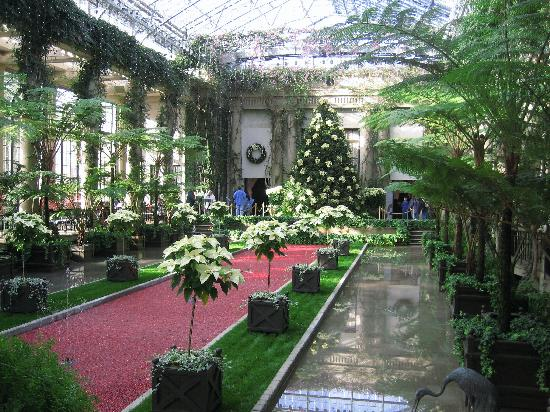 Christmas At Longwood Gardens Dupont House Picture Of