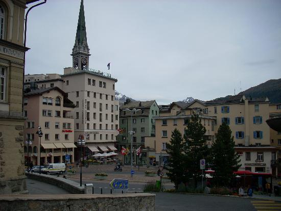 Hotel Sonne: St Moritz Dorf - Main Square