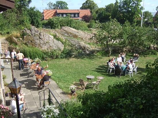 Allinge, Denmark: The rocky garden