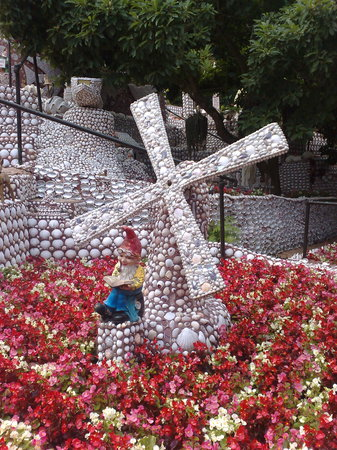 Jersey, UK: The Shell Garden was another popular place with the kids, but the adults were impressed too!