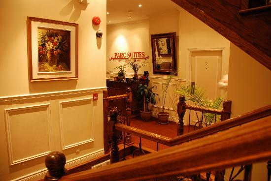 Parc Suites Hotel: lobby