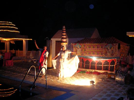 Mirvana Nature Resort and Camp: folk dance