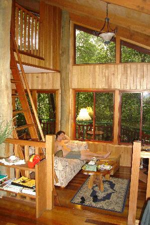 Springbrook Lyrebird Retreat: Inside the cabin