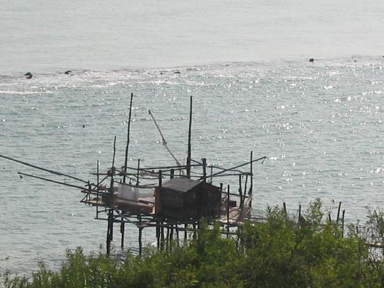 Fossacesia Marina, Italia: The Trabocchi coast