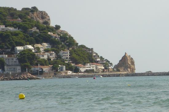 A View from the Beach of L'Estartit