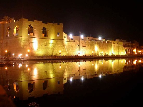 Tripoli, Libya: Red castle