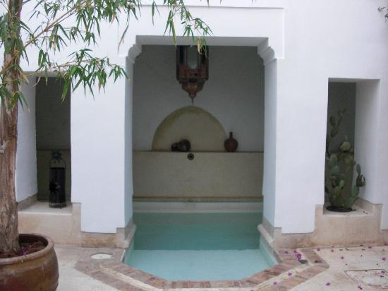 Riad Mabrouka Marrakech: Plunge Pool