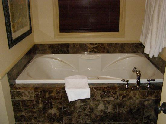 Ripplecove Lakefront Hotel and Spa: Whirlpool bath for 2