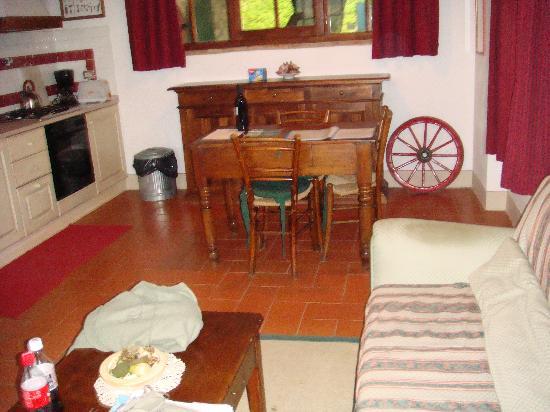 Fattoria Viticcio: per Camilla apartment Living Room