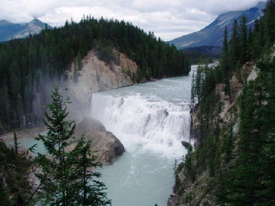 Kicking Horse River Chalets: A hike to Wapta Falls