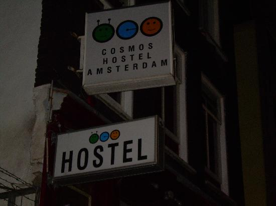 Hostel Cosmos Amsterdam: Outside