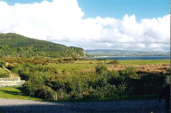 Tralee Bay Holiday Park: View towardds Benderloch