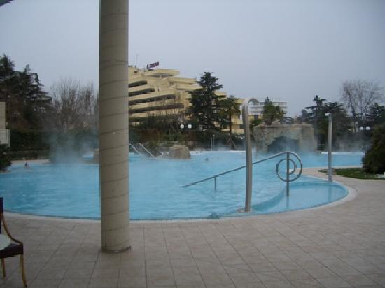 Hotel All'Alba: Piscina esterna