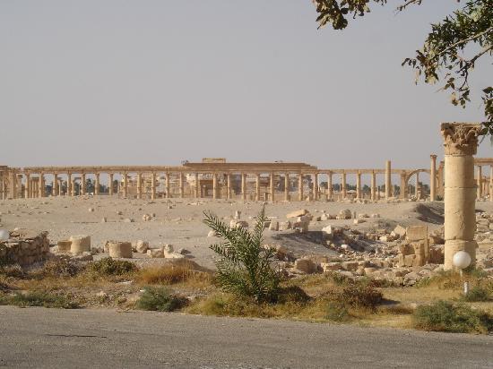 Συρία: Ruinas de Palmira (Siria)