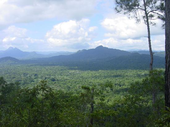 Black Rock Lodge : Vista from the peak just above Black Rock