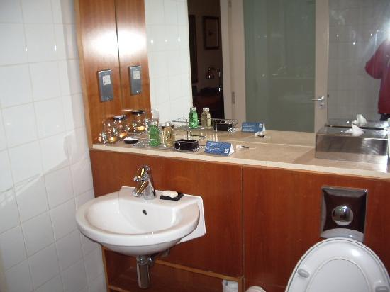 Apex City of Edinburgh Hotel: baño