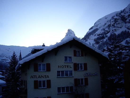 Hotel Elite Garni: View from balcony