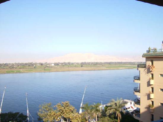 Steigenberger Nile Palace Luxor : View from the balcony