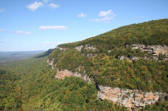 Cloudland Canyon State Park- overlook