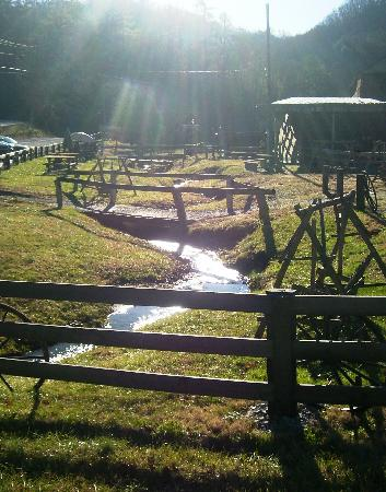 Walden Creek Horseback Riding Stables: View of the area around the Stables