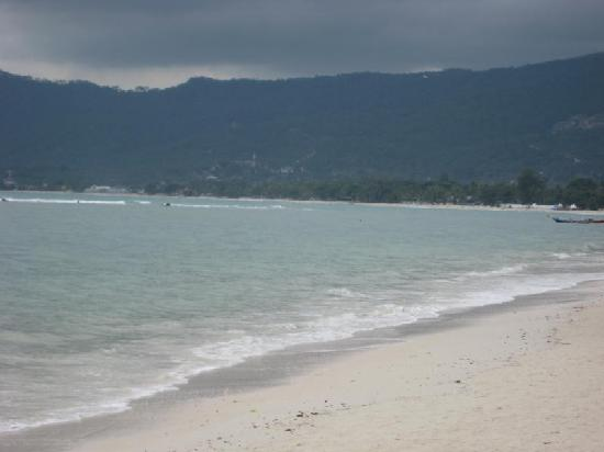 Samui Island Beach Resort and Hotel: View of the beach while eating breakfast
