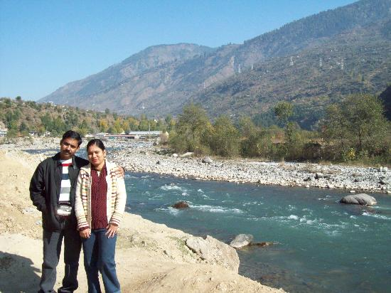 Khushboo Resorts : bank of Beas River