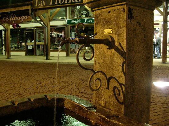 La Residence: La fontaine