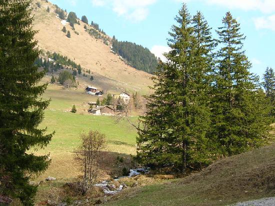 La Residence: vers le Col des Aravis