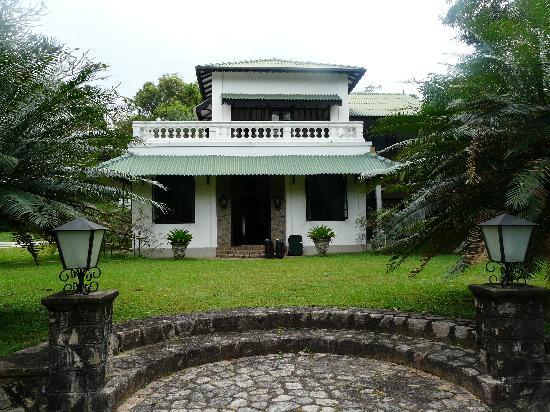 Horathapola Estate : Main entrance
